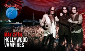 the hollywood vampires play rock in rio lisbon joe perry. Black Bedroom Furniture Sets. Home Design Ideas