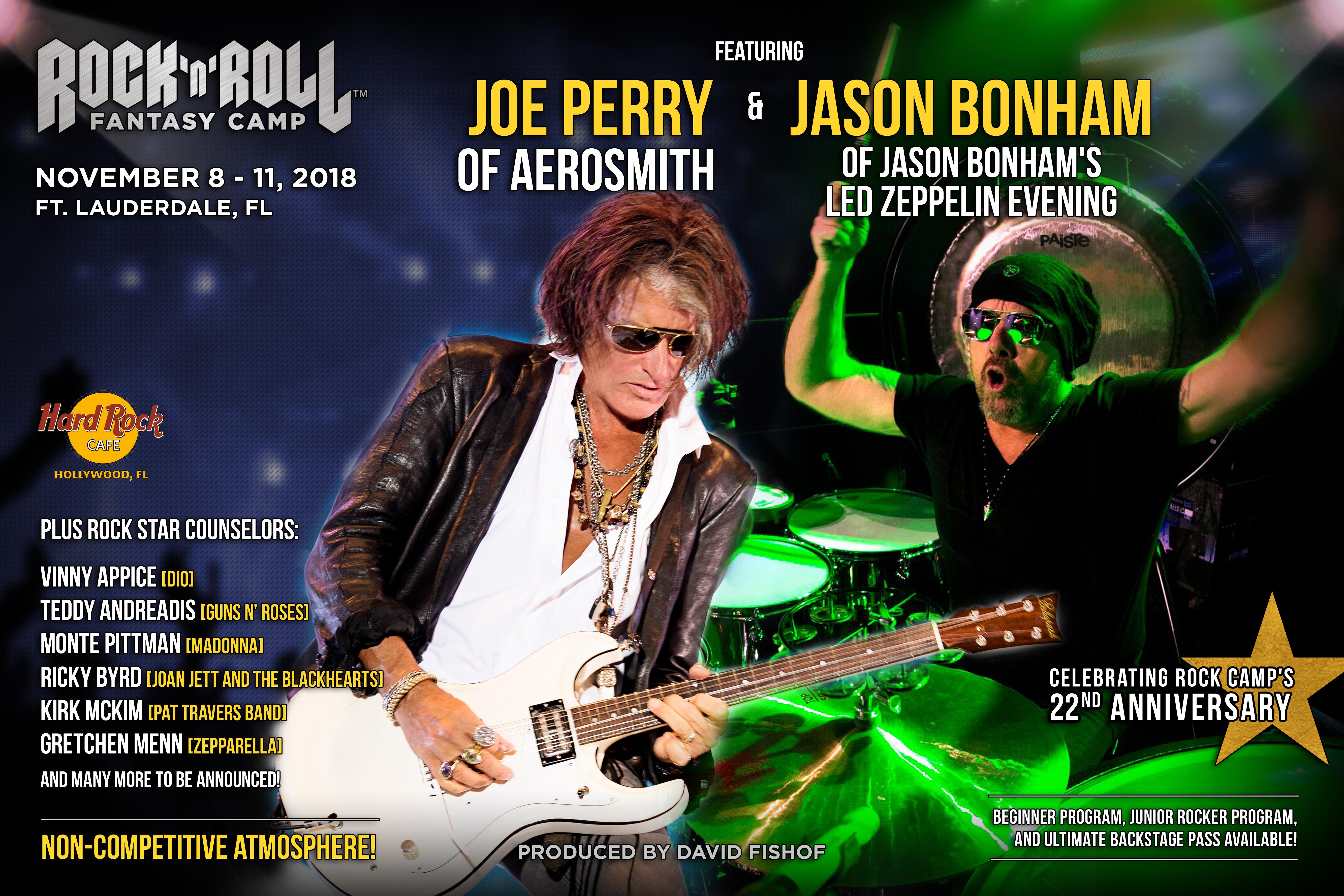 joe perry rock and roll fantasy camp joe perry