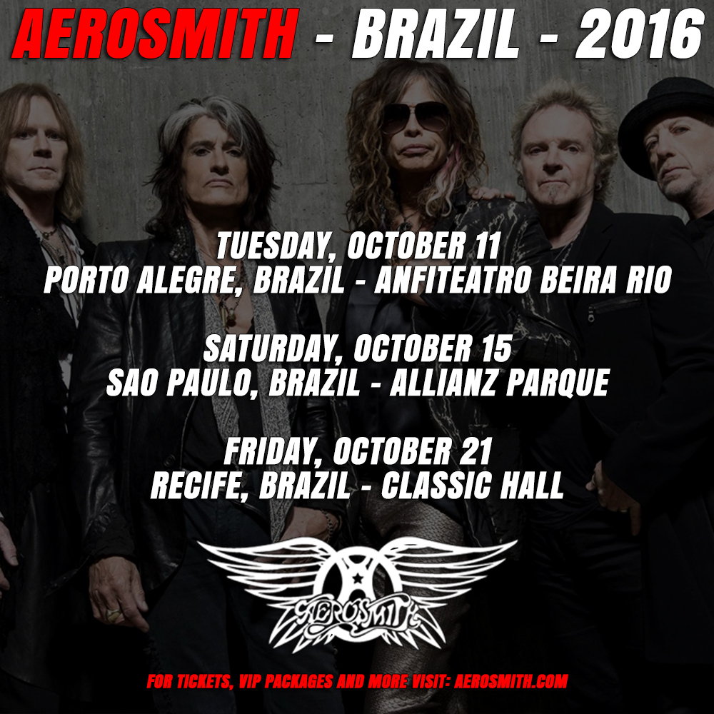 Aerosmith in Brazil!
