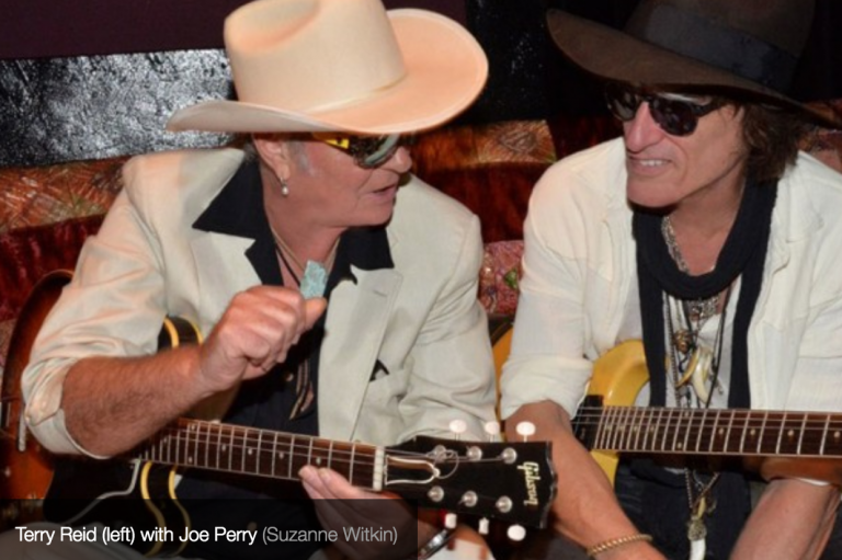 Exclusive First Listen! I'll Do Happiness by Joe Perry featuring Terry Reid