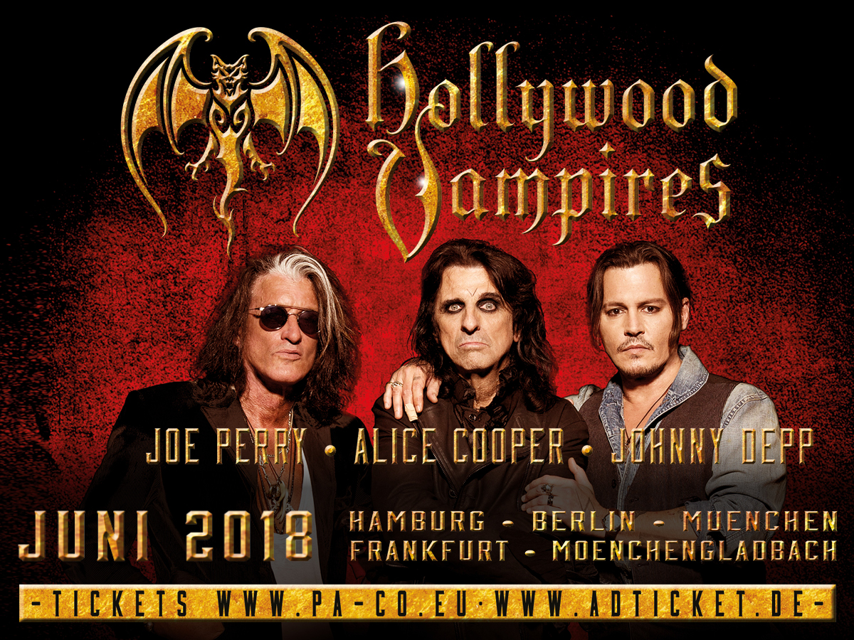 The Hollywood Vampires are back!