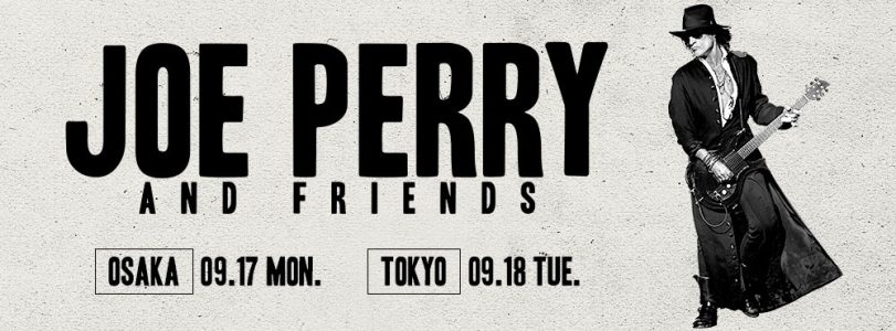 Joe Perry announces two 'Joe Perry & Friends' shows in Japan!
