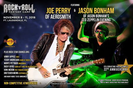 Joe Perry Rock and Roll Fantasy Camp