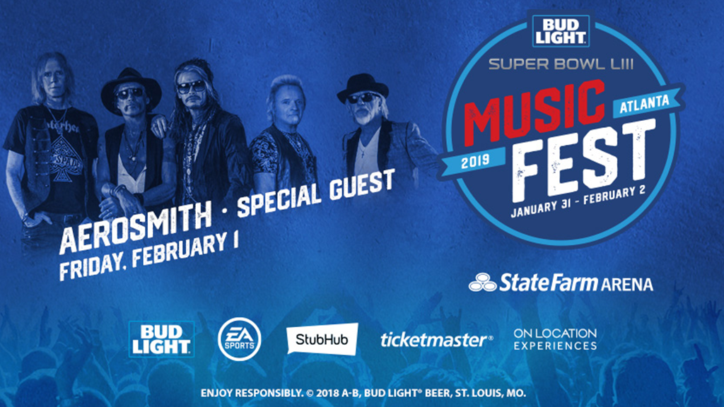 Aerosmith ROCKS Super Bowl LIII Music Fest 2019