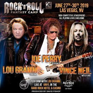 2019 ROCK AND ROLL FANTASY CAMP
