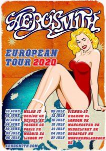 AEROSMITH 2020 EUROPEAN TOUR DATES ANNOUNCED!