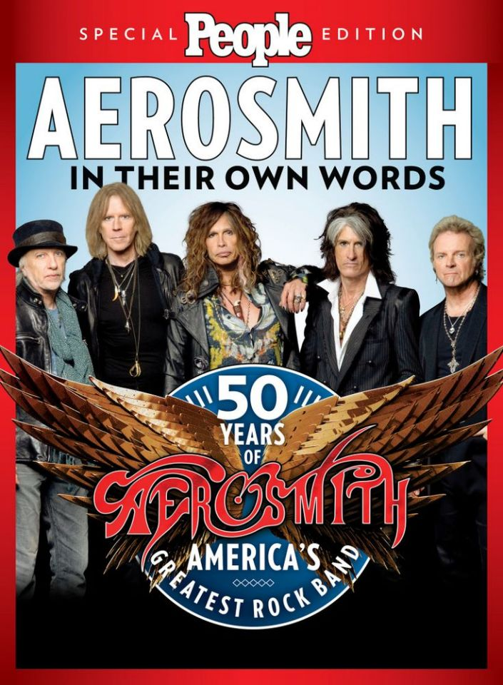 PEOPLE CELEBRATES 50 WILD YEARS OF AEROSMITH IN A NEW SPECIAL EDITION